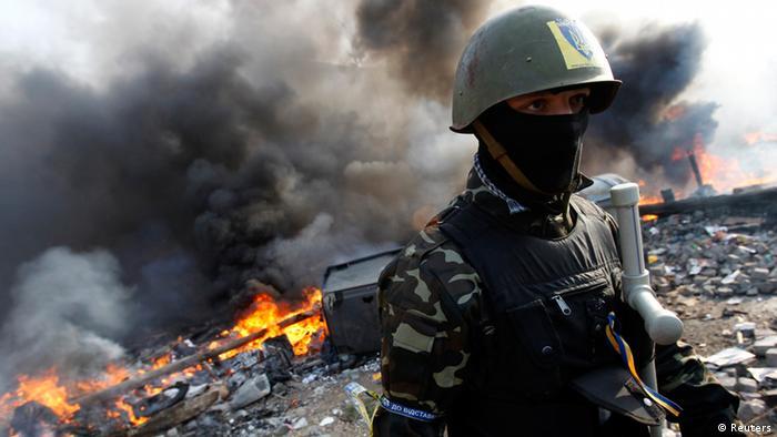 Ukraine Protest Eskalation und Gewalt 19.02.2014