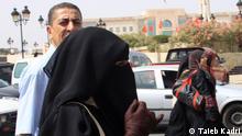 Frauen mit Niqab Tunesien