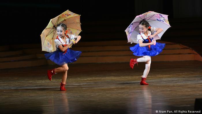 Paraguas Del Norte Encanto de Corea Del Norte