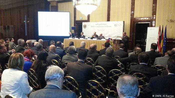 Eröffnung des Treffens irakischer und deutscher Geschäftsmänner
