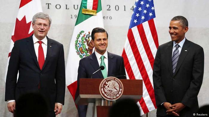 Obama Harper Nieto