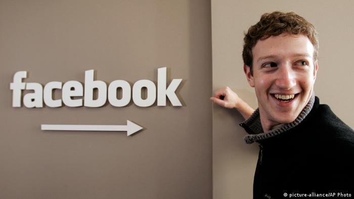 Mark Zuckerberg Gründer Facebook Porträt Archiv