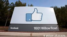 epa03318992 (FILE) A file photo dated 31 January 2012 showing a view of Facebook's new Corporate Headquarters in Menlo Park, California, USA. According to news reports on 26 July 2012, Facebook met market expectations in its first quarterly earnings since it became a publicly traded company. EPA/PETER DaSILVA *** Local Caption *** 00000403087462