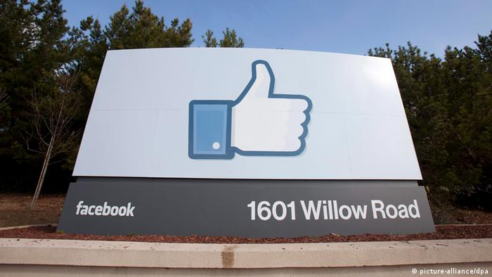 Facebook Headquarter Zentrale Kalifornien Menlo Park (picture-alliance/dpa)