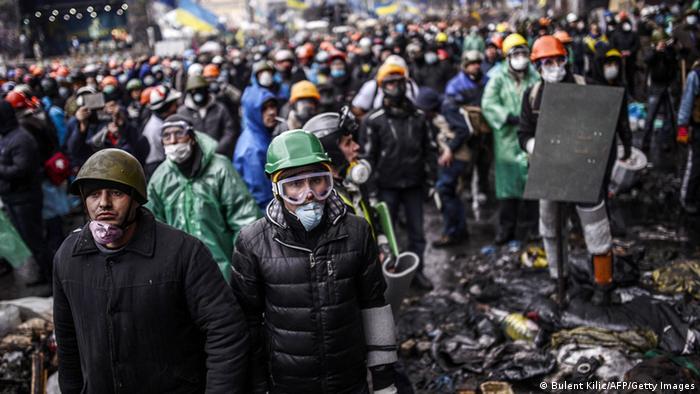 Протесты в Киеве 20.02.2014