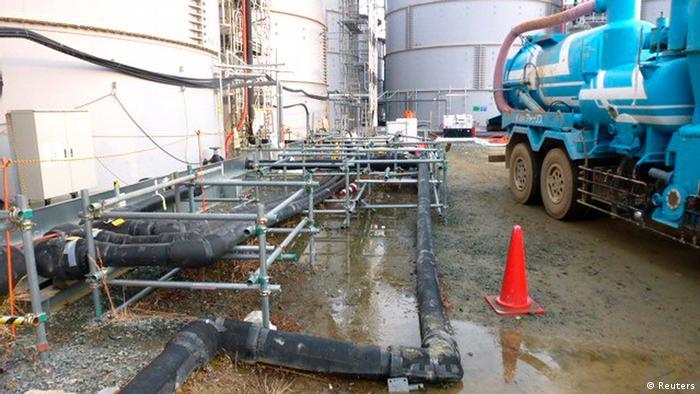 Fukushima Leck verseuchtes Wasser Atomanlage