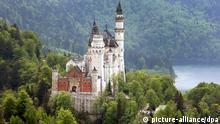 Schloss Neuschwanstein bei Füssen König Ludwig II.