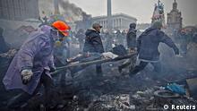 Ukraine Kiew Bürgerkrieg Gefechte Verletzte Zerstörung