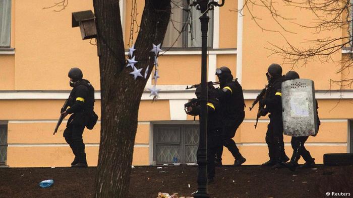 Силовики готовы к тому, чтобы стрелять в участников протеста