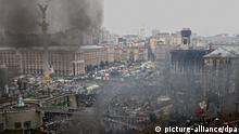 Maidan Kiew Ukraine Bürgerkrieg