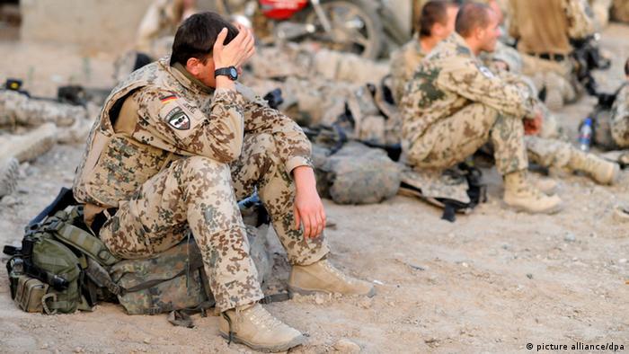 Archivbild Bundeswehr-Soldaten nahe Kundus, Afghanistan 2011 (Foto: dpa)