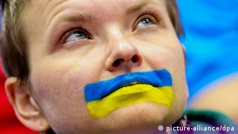 Eishockey Fan in Sotschi (Foto: dpa)