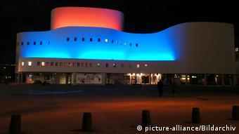 Здание Дюссельдорфского драматического театра