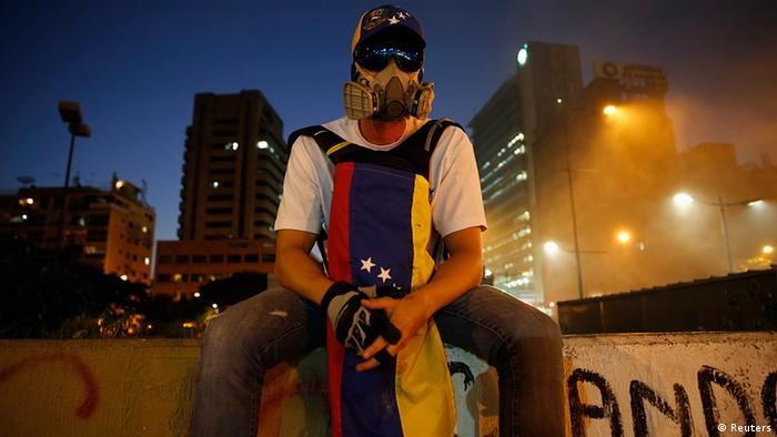 Venezuela Studentenproteste in Caracas