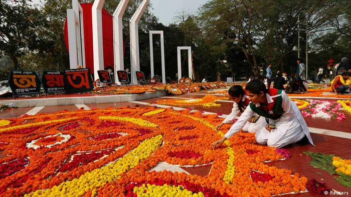 Dhaka Feierlichkeiten zum Tag der Muttersprache 21.02.2014