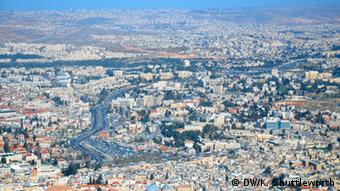 Stadtansicht von Jerusalem (Foto: DW/K. Shuttleworth)
