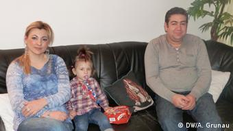 Romanian immigrants in Dortmund (photo: DW/A. Grunau)
