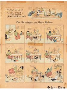 Exhibition 150 years of Max & Moritz, public domain