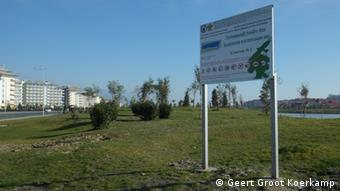 A huge sign close to the Olympic Park near Sochi titled Ornithological Park warns visitors that this is a protected area and that it's prohibited to disturb the wildlife here.