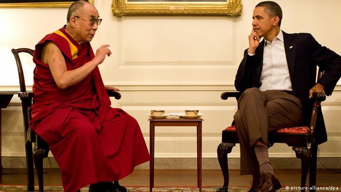 Barack Obama trifft Dalai Lama