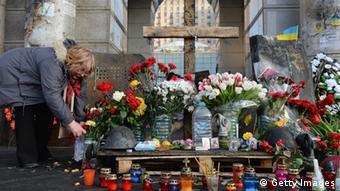 Kiew Trauer um Opfer der Proteste