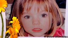 epa03900448 (FILE) A file photograph dated 12 May 2007 shows a poster displayed of three-year-old Madeleine McCann, a British girl who went missing in 2007 while on holiday with her parents in Praia da Luz, in Lagos, Portugal. The London Metroplitan Police on 07 October 2013 report that they are focused on the appeal on the BBC television programme, Crimewatch, next week which we hope will produce new witnesses. It is clearly too early to speculate about where this will lead. 'It remains vital for us, and the success of the appeal, that the public are focused on new facts that can be released by the investigative team rather than speculation. The latest appeal on Crimewatch will also be broadcast in Holland and Germany. This reflects the truly international nature of this investigation as enquiries as part of Operation Grange are being conducted in thirty separate countries. EPA/LUIS FORRA *** Local Caption *** 50875254