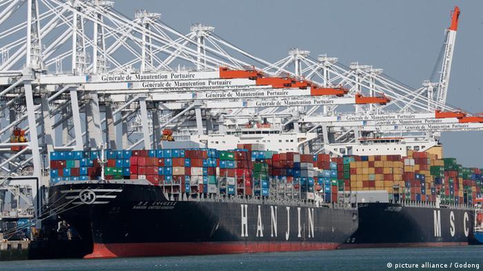 Le Havre Containerhafen