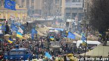Ukraine Krise Platz der Unabhängigkeit 22.02.2014