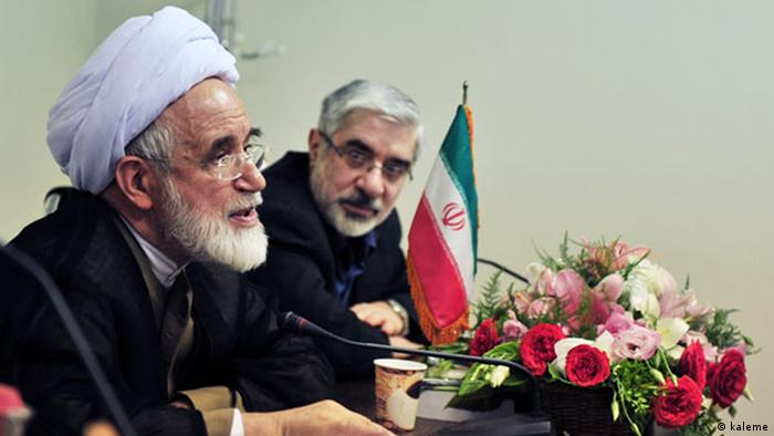 Mir Hossein Mussawi & Mehdi Karroubi Oppositionspolitiker Iran (kaleme)