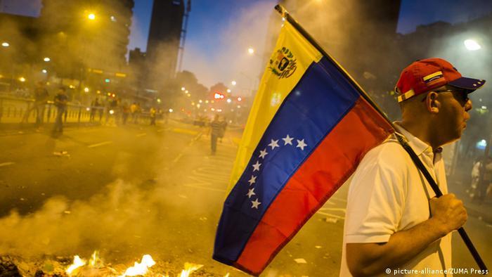Proteste in Venezuela 22.02.2014