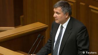 Ukraine Krise neuer Innenminister Arsen Avakov 22.02.2014 2013