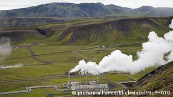 Industrie in Island Nesjavellir Kraftwerk