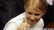 Ukraine Regierung Julia Timoschenko als Ministerpräsidentin Parlament in Kiew