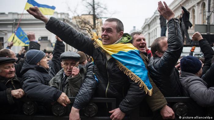 Ukraine Reaktionen auf Neuwahlen 22. Feb. 2014