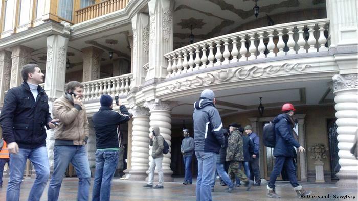 В резиденции Януковича