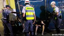 Brasilien Sao Paulo Proteste gegen WM 2014