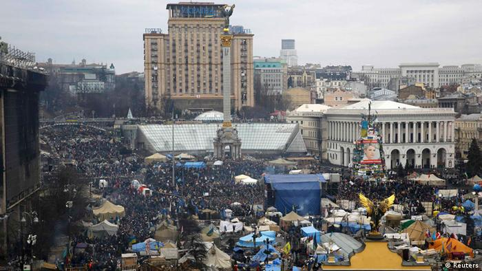 Ukraine Kiew Maidan 23.2.2014 (Reuters)