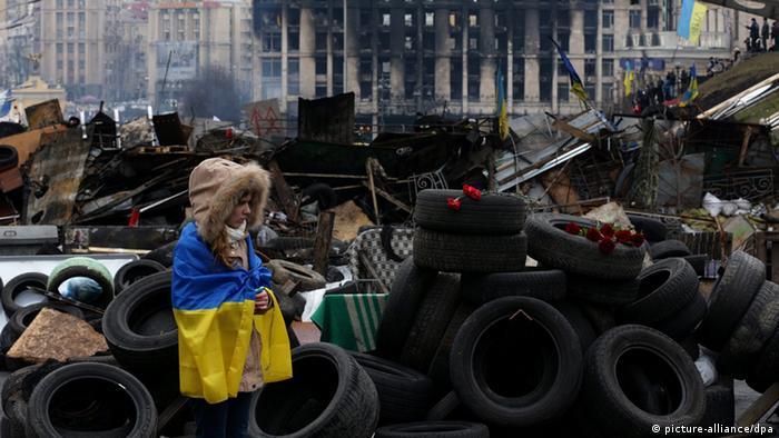 پایداری مخالفان در کیف سرانجام سبب سرنگونی ویکتور یانوکوویچ شد