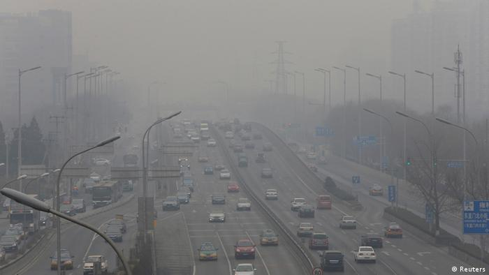 Smog in Peking China