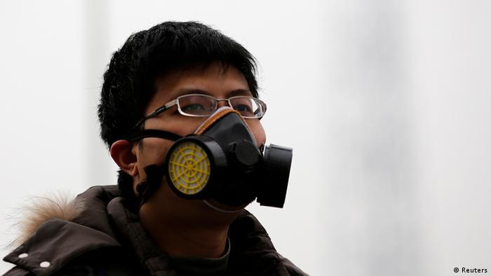 Smog in Peking China