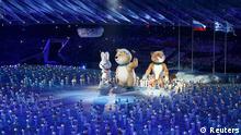 Olympische Winterspiele Sotschi Abschlussfeier
