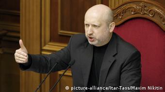Ukraine Interim Präsident Alexander Turtschinow 23.02.2014 2013