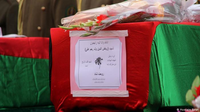 Afghanistan Gedenkveranstaltung für 21 getötete Soldaten in Konar