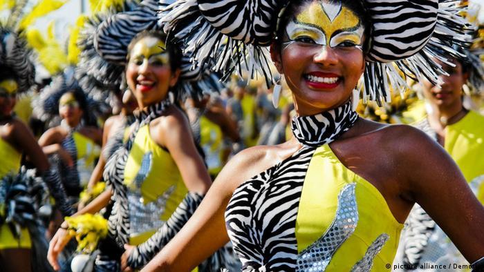 Foto: Carnaval de Barranquilla, Karneval in Barranquilla, Kolumbien. Immaterielles Kulturerbe, UNESCO. Foto Copyright: Archivo Ministerio de Comercio, Industria y Turismo, Colombia.