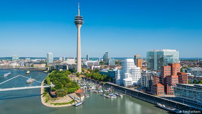 Deutschland Düsseldorf Medienhafen (Fotolia/davis)