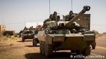 tanks copyright: EPA/Seb Crozier
