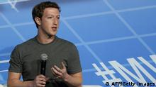 Mark Zuckerberg Mobile World Congress in Barcelona