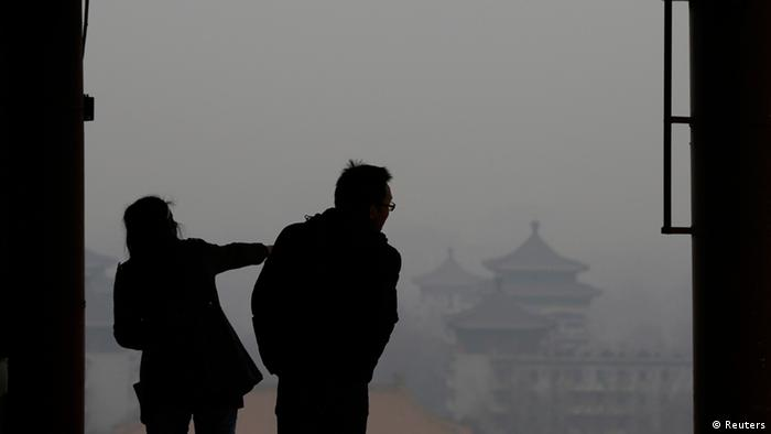 Smog in Peking China 24.02.2014