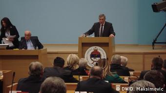 Radmanović obrazložio pozivanje na vitalni nacionalni interes