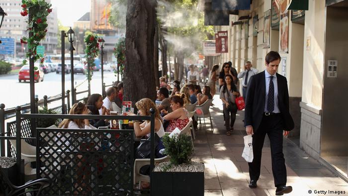 Spanien Alltag in Madrid